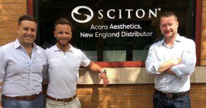 Acara Partnership with Sciton